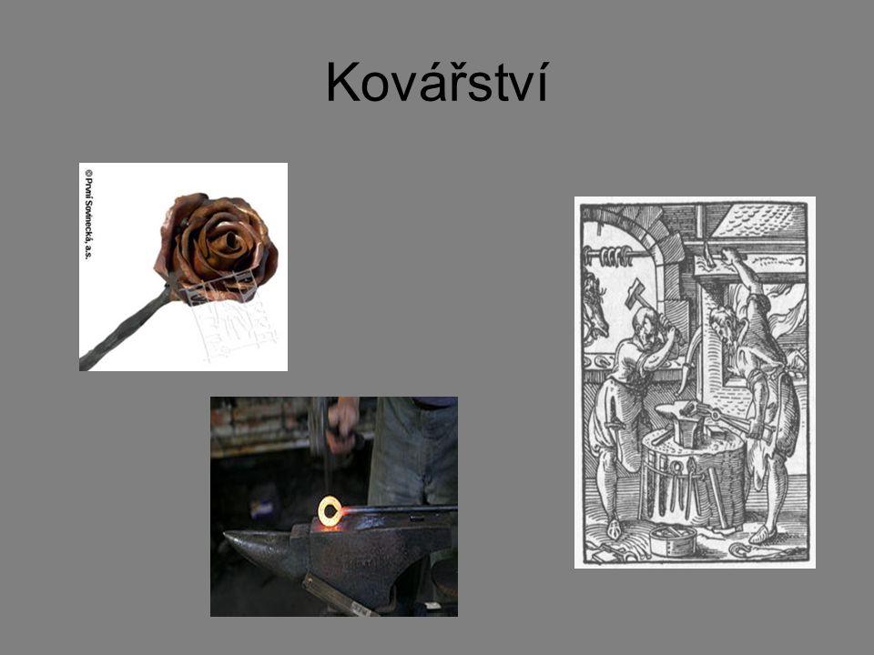 Kovářství patřilo k nejvýznamnějším oborům lidské činnosti, lze říci, že schopnost zpracovávat železnou rudu patří k jednomu ze základních hledisek nahlížení na vyspělost starověkých civilizací.