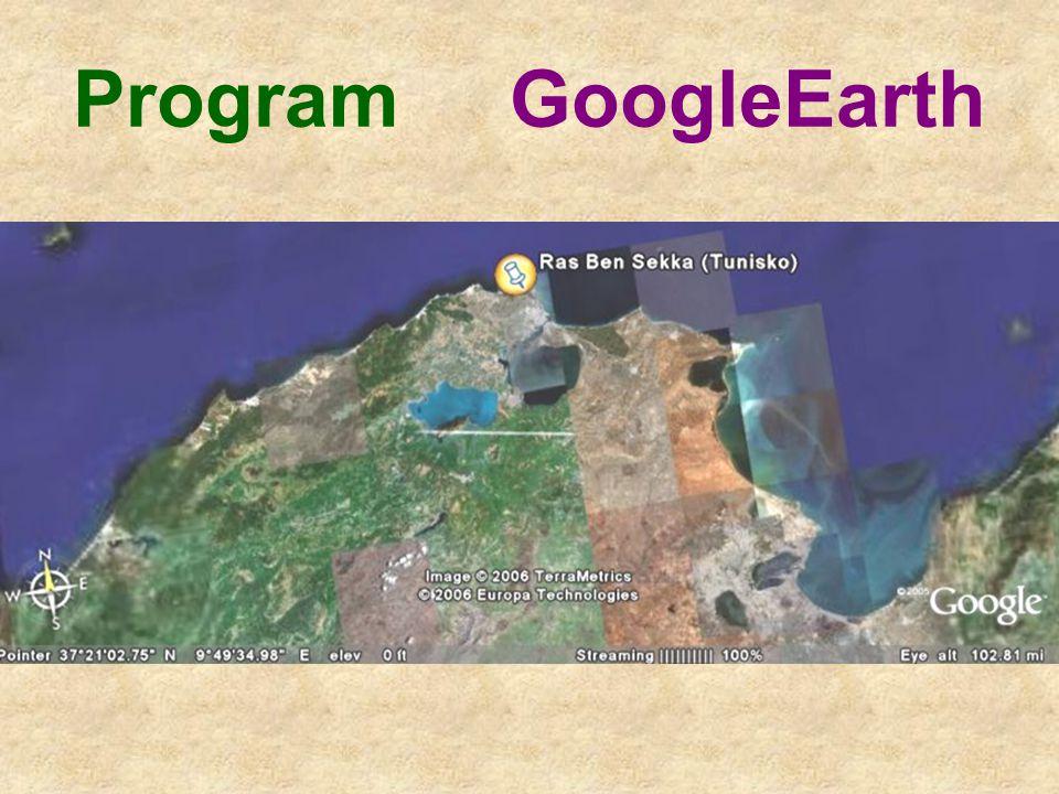 Program GoogleEarth