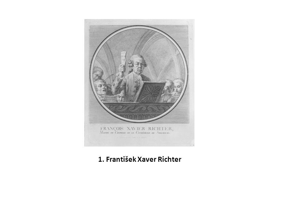 1. František Xaver Richter