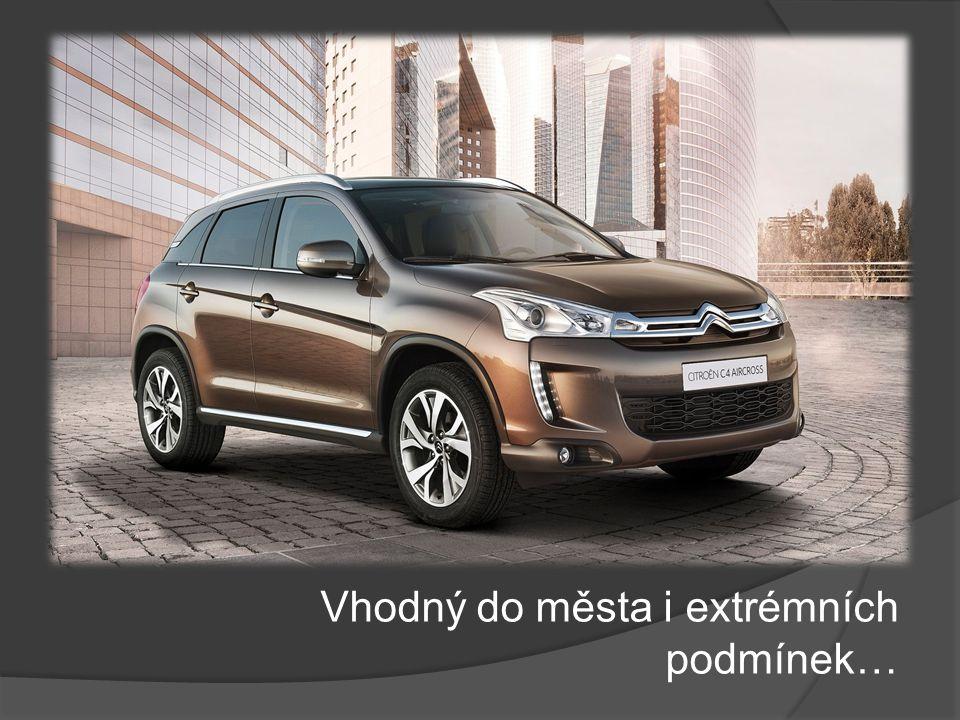 Moderní kompaktní SUV s nevšední výbavou…