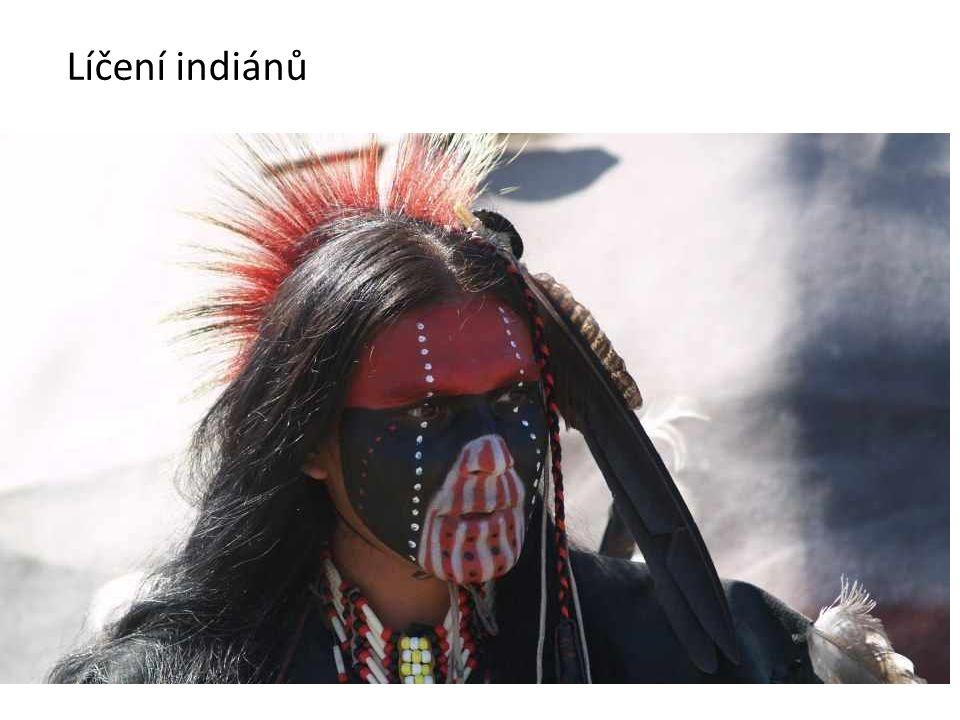 Líčení indiánů