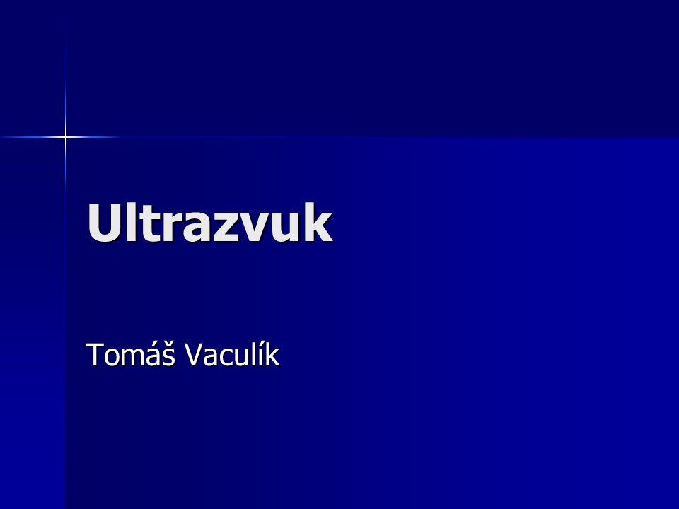 Ultrazvuk Tomáš Vaculík