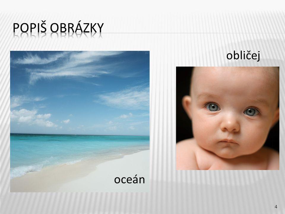 obličej 4 oceán