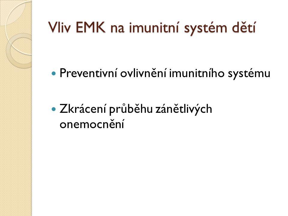 Vliv EMK na kardiovaskulární systém Obsah EMK ve stravě spojen s nižším výskytem kardiovaskulárních onemocnění Nižší výsky KVO a úmrtnosti na ně ve Středomoří