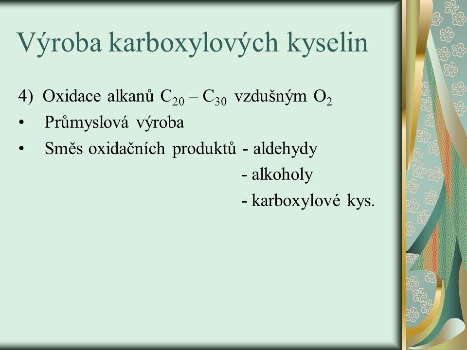 Procvičování: 1)Kde najdeme tyto karboxylové kyseliny .