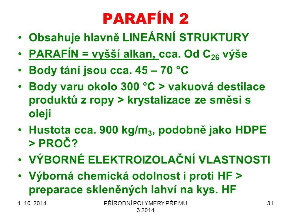 PARAFÍN 2 1.10.