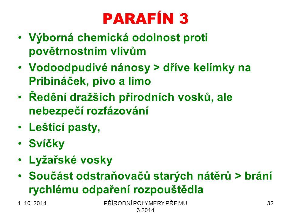 PARAFÍN 3 1.10.