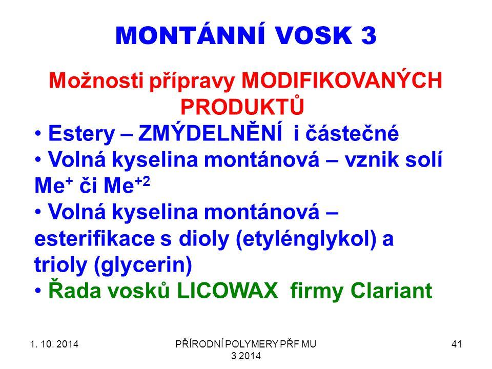 MONTÁNNÍ VOSK 3 1.10.