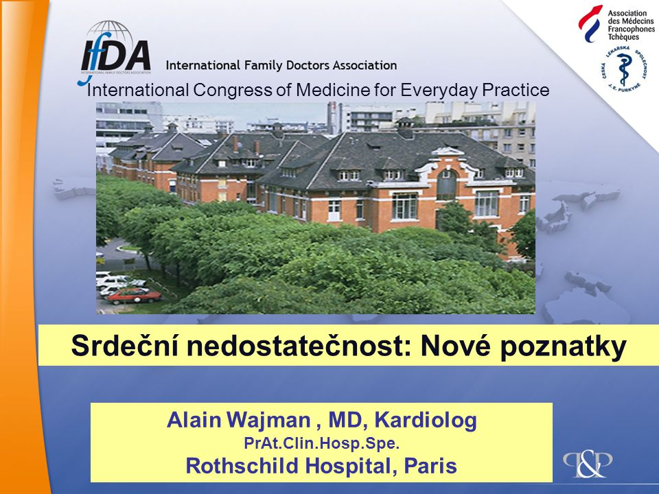 Things we knew, things we did… Things we have learnt, things we should do International Congress of Medicine for Everyday Practice Alain Wajman, MD, Kardiolog PrAt.Clin.Hosp.Spe.