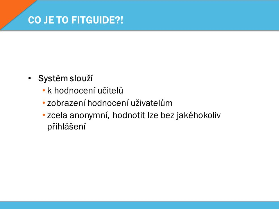 CO JE TO FITGUIDE?.