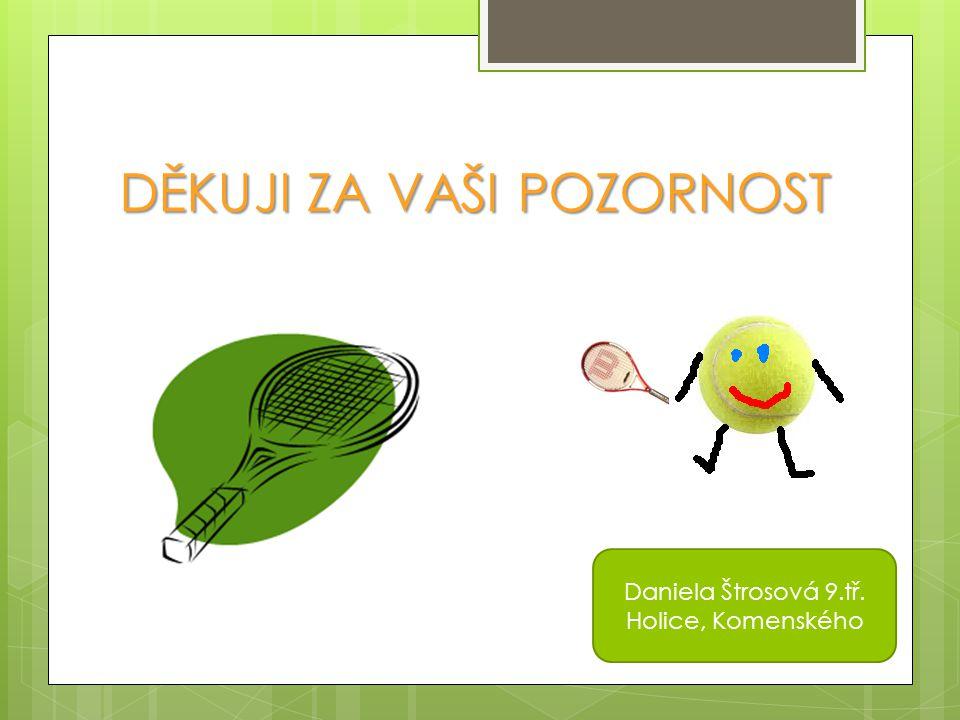 DĚKUJI ZA VAŠI POZORNOST Daniela Štrosová 9.tř. Holice, Komenského