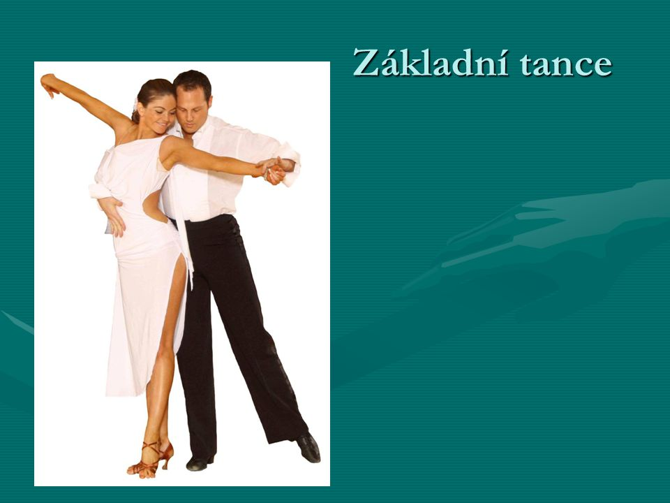 Základní tance
