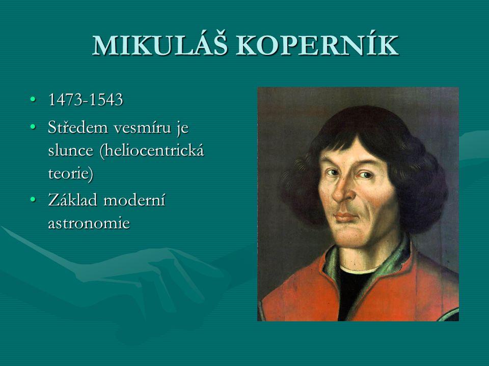 TYCHO BRAHE 1546-16011546-1601 Dánský astronomDánský astronom Celoevropský věhlasCeloevropský věhlas