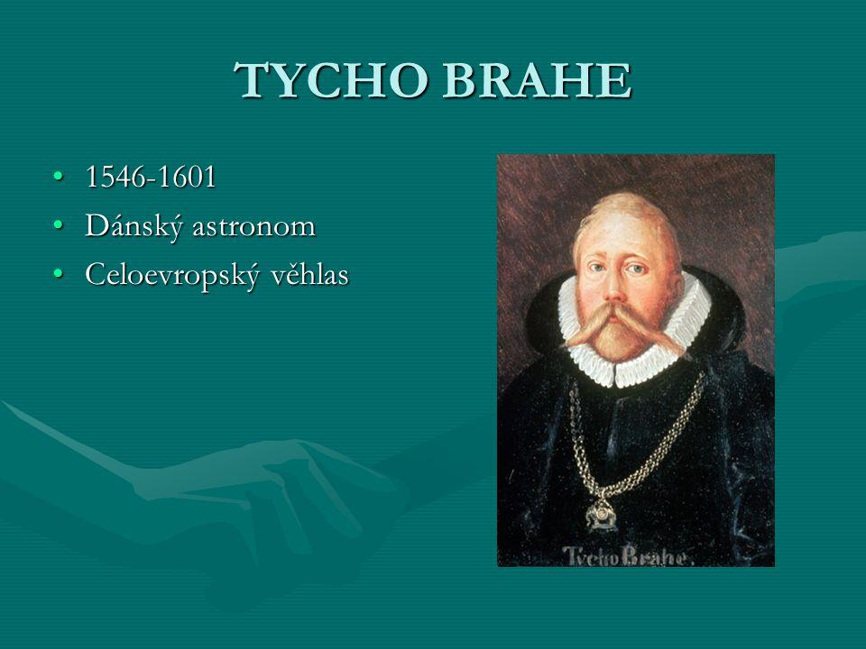 JOHANNES KEPLER 1571-16301571-1630 Působil v Praze za Rudolfa II.Působil v Praze za Rudolfa II.