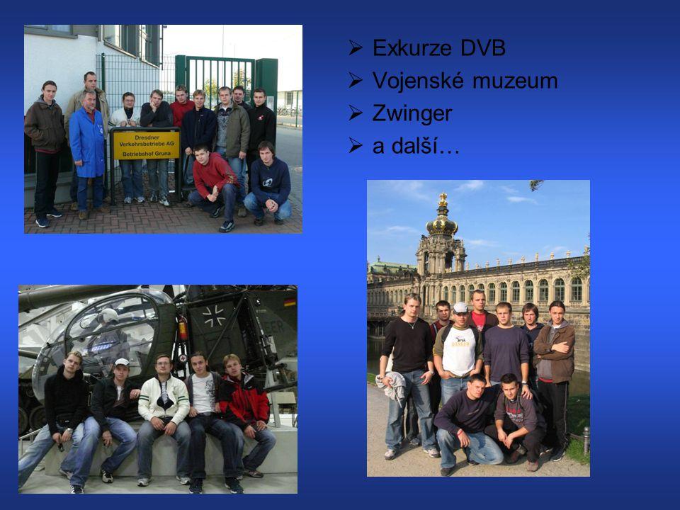 EExkurze DVB VVojenské muzeum ZZwinger aa další…