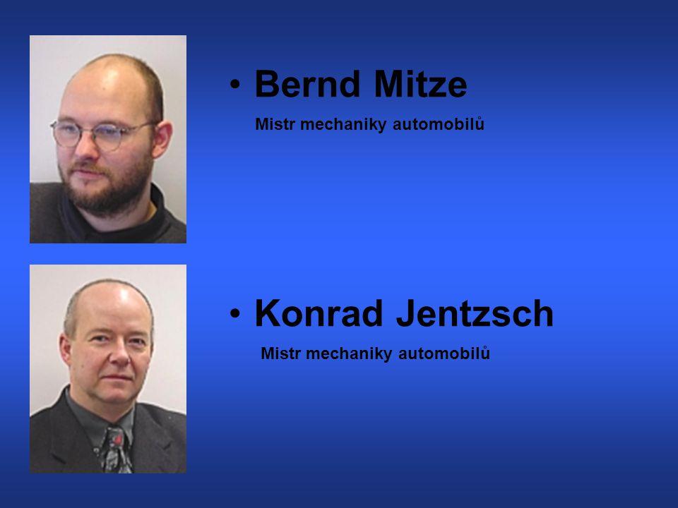 Bernd Mitze Konrad Jentzsch Mistr mechaniky automobilů Mistr mechaniky automobilů