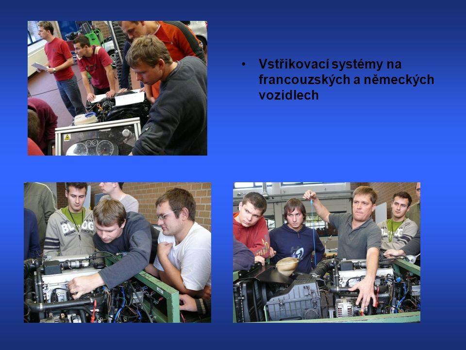Témata,kterými jsme se zabývali: (Winfried Bittner) Elektronické systémy vozidel, CAN-Databus