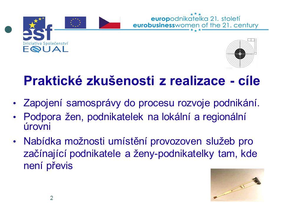2 Zapojení samosprávy do procesu rozvoje podnikání.