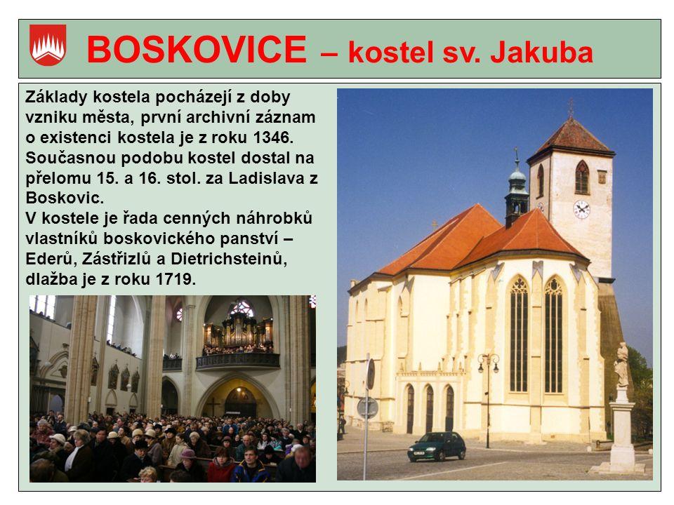 BOSKOVICE – kostel sv.