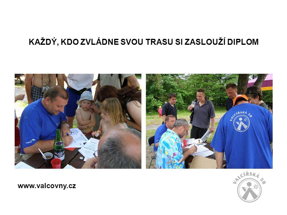 KAŽDÝ, KDO ZVLÁDNE SVOU TRASU SI ZASLOUŽÍ DIPLOM www.valcovny.cz