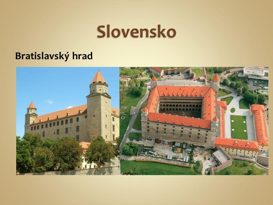 Bratislavský hrad Dunaj