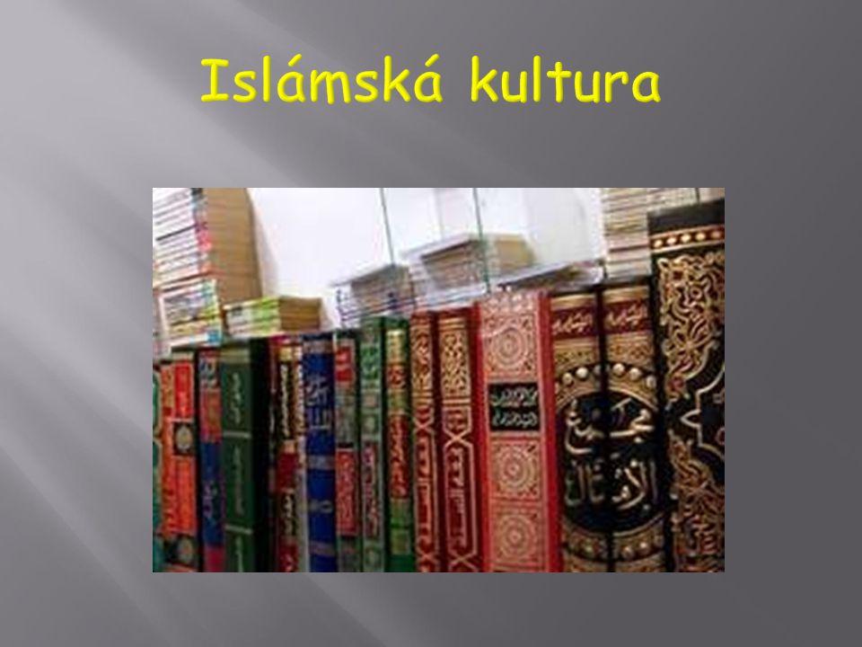  Vedle filosofie (např. Averroes (Abu ibn Rušd), obrázek) ve zlatém období islámu kvetlo umění (literatura, poesie i próza, výtvarná umění, zejména a