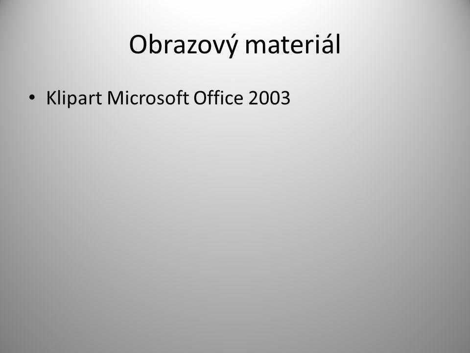 Obrazový materiál Klipart Microsoft Office 2003