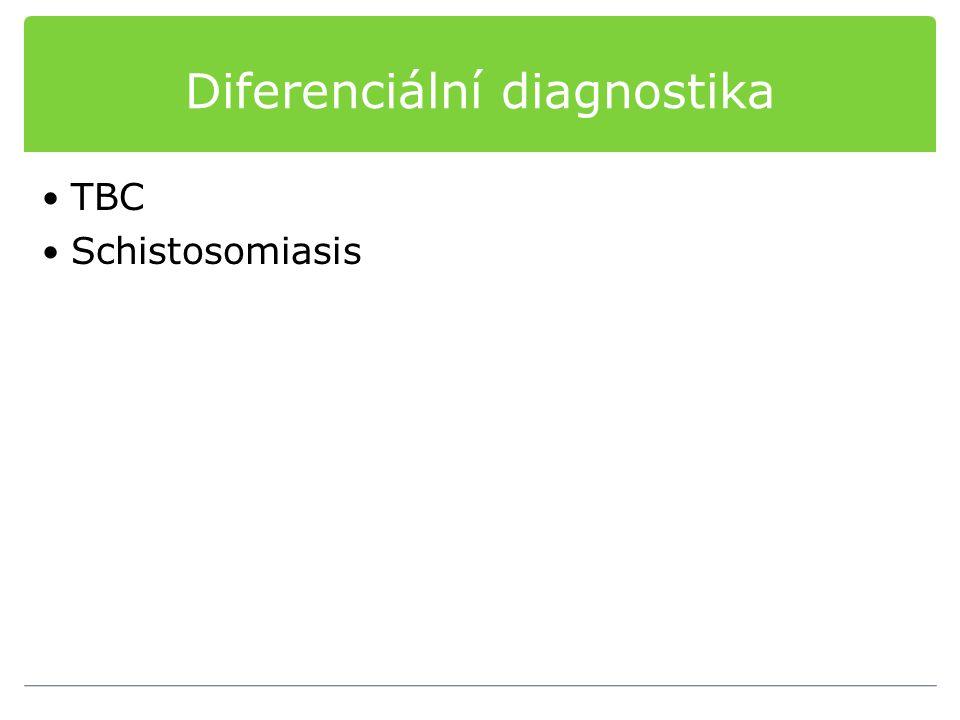 Diferenciální diagnostika TBC Schistosomiasis