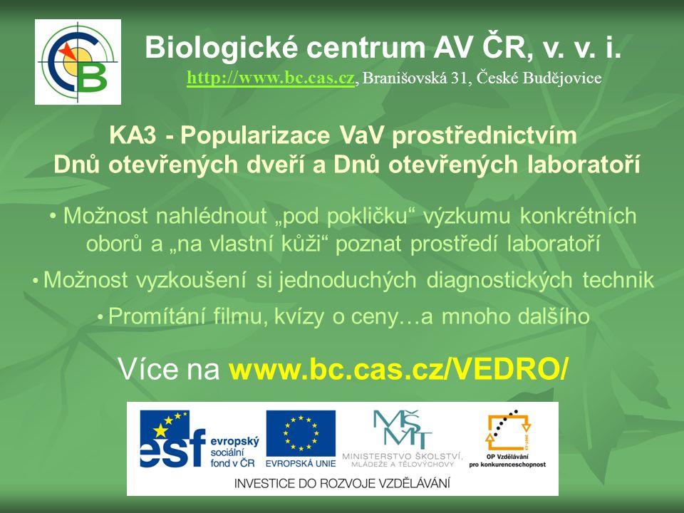 Biologické centrum AV ČR, v.v. i.