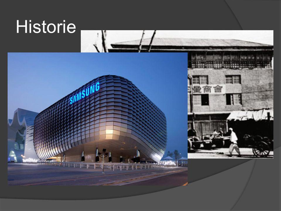 Historie  Založeno roku 1938 Lee Byung-Chulem  Do roku 1950 prosperující podnik, poté výroba zastavena kvůli změně režimu  O rok později výroba zno