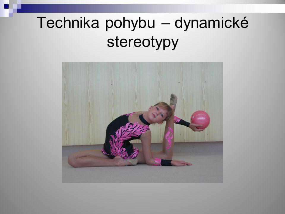 Technika pohybu – dynamické stereotypy