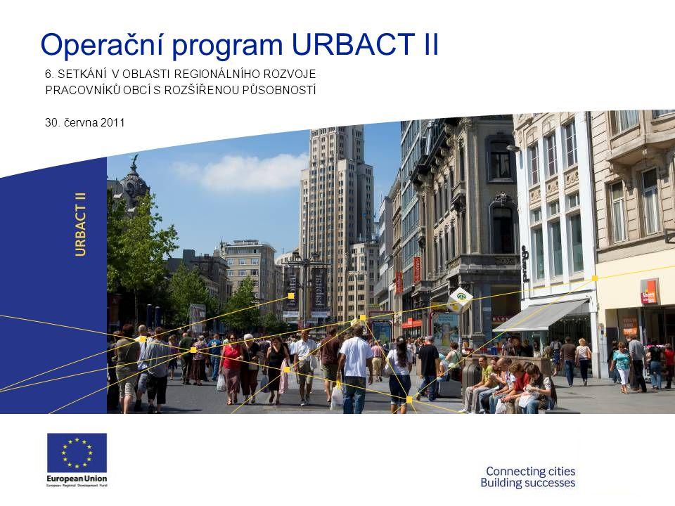 Operační program URBACT II 6.