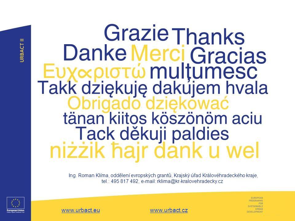 www.urbact.euwww.urbact.eu www.urbact.czwww.urbact.cz Ing.