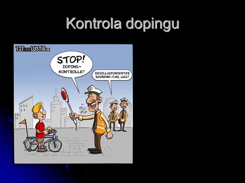 Kontrola dopingu