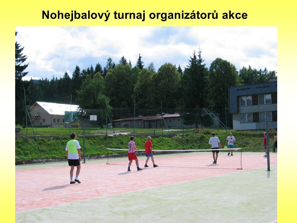 Nohejbalový turnaj organizátorů akce
