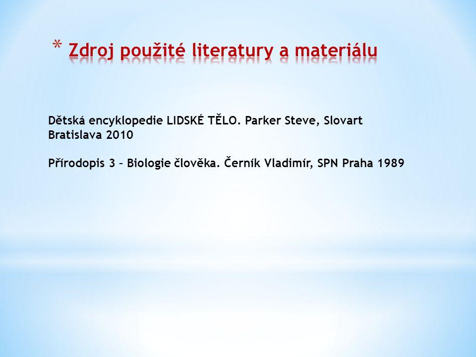 Dětská encyklopedie LIDSKÉ TĚLO.