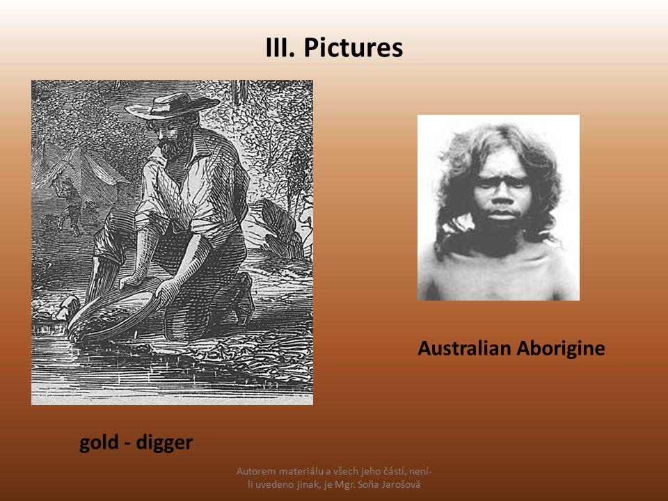 III. Pictures Autorem materiálu a všech jeho částí, není- li uvedeno jinak, je Mgr.