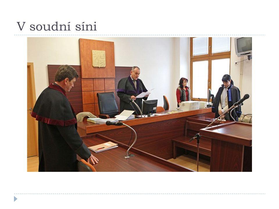 V soudní síni