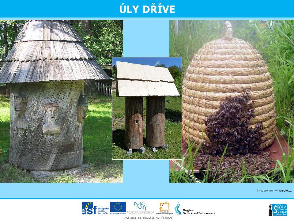 ÚLY DŘÍVE http://www.wikipedie.cz Česno – hlavní vchod