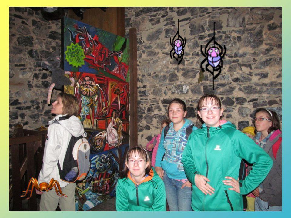 Radouše jsme našli na hradu Radyni. A byl strašnej! A ta pověst byla hrozná.