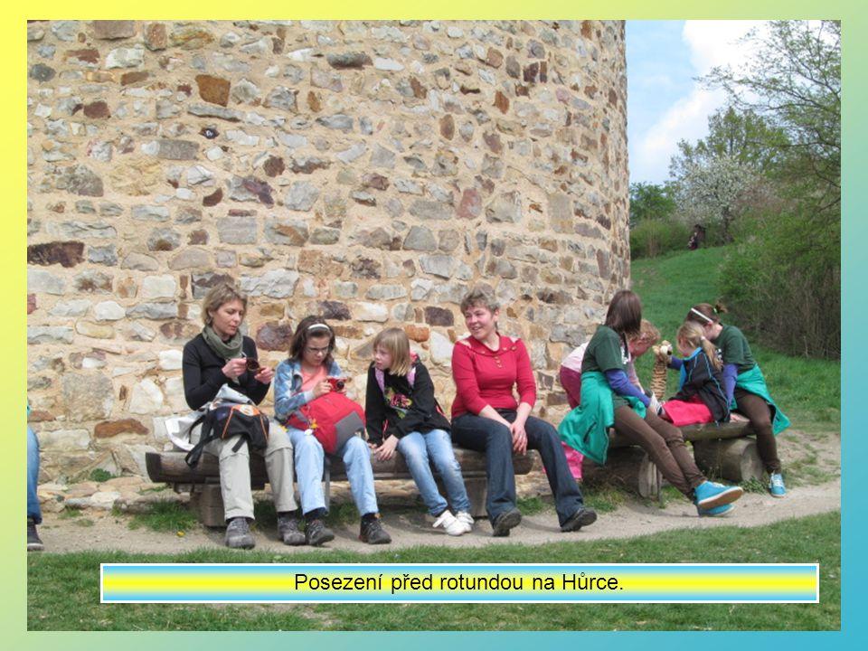 Jsme na věži hradu a získali jsme také pamětní list.