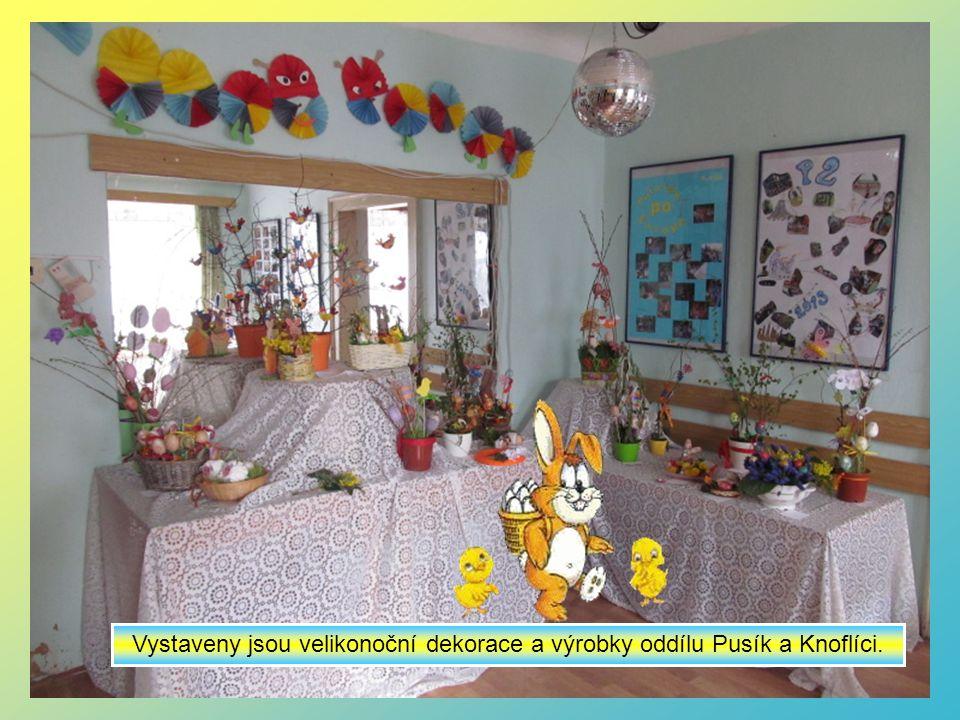 Obrázky z Velikonoční výstavy na naší klubovně – 17.4.-7.5.2014