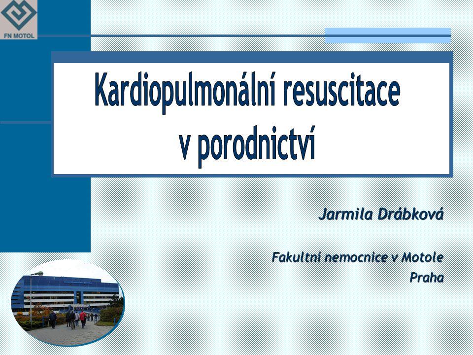 Jarmila Drábková Fakultní nemocnice v Motole Praha