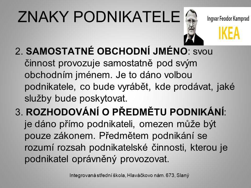 ZNAKY PODNIKATELE 2.