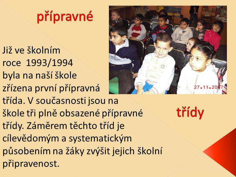 Již ve školním roce 1993/1994 byla na naší škole zřízena první přípravná třída.