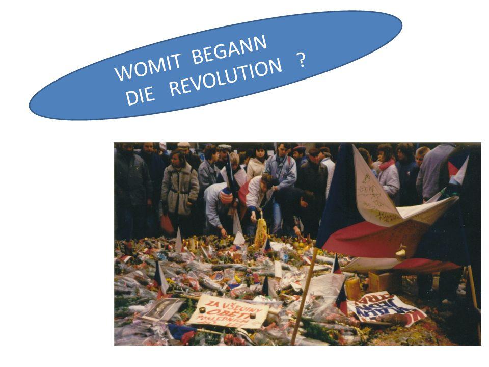 WOMIT BEGANN DIE REVOLUTION