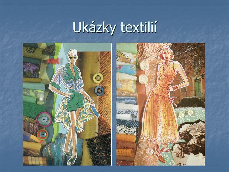 Ukázky textilií
