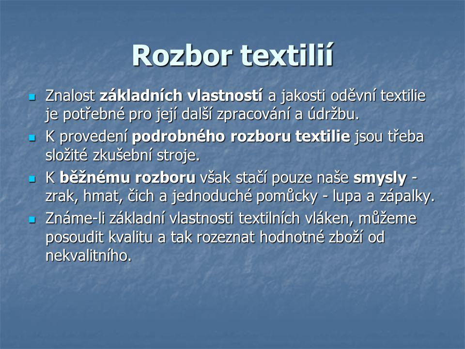 Žehlení a údržba textilií Žehlení je nedílnou součástí při práci s textilními materiály.
