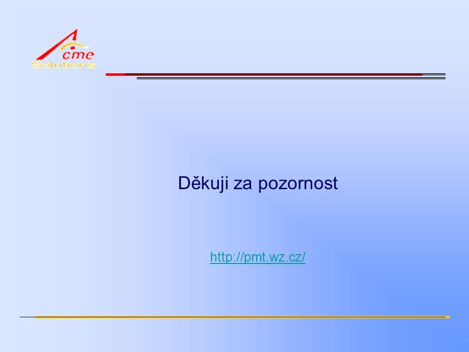 Děkuji za pozornost http://pmt.wz.cz/
