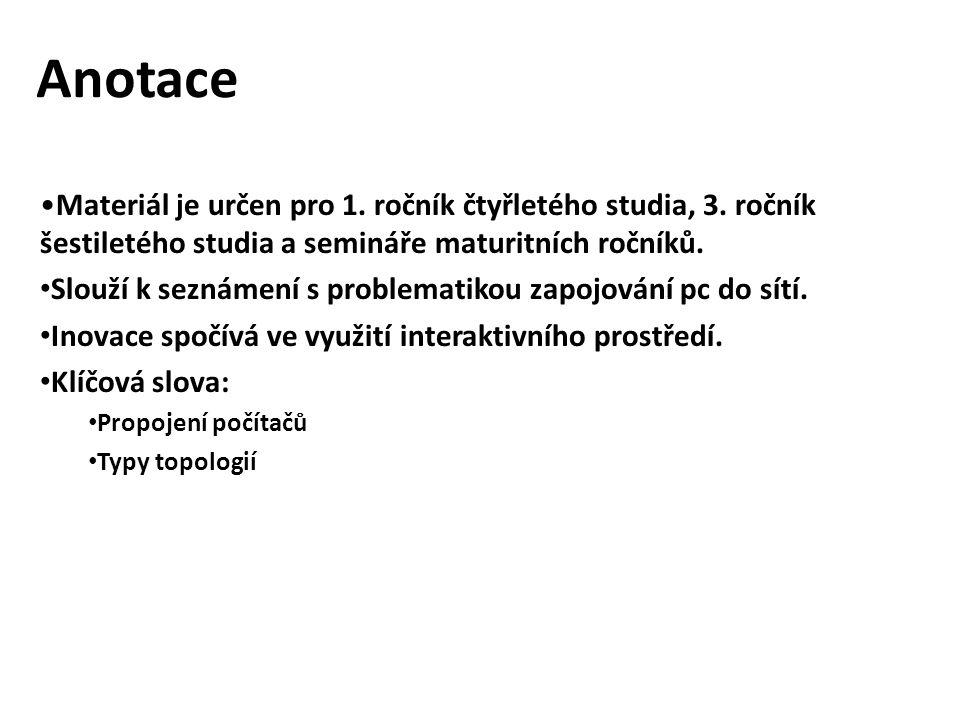Citace zdrojů WIKIPEDIA, Wikipedia.Topologie sítí [online].